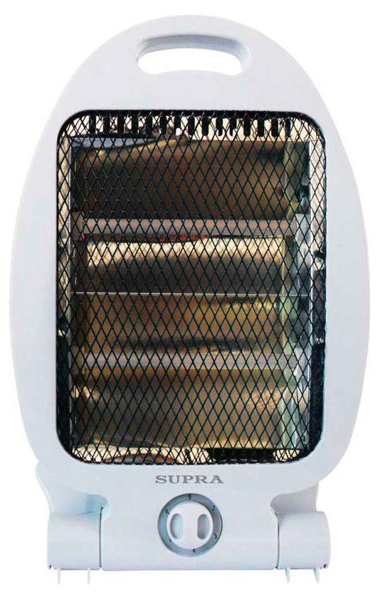 Supra QH-804, White инфракрасный обогревательQH-804макс мощность 800 Вт\ два режима нагрева 400\800 2 кварцевых излучателя\идеален для направленного нагрева не выжигает кислород в помещении\высокий КПД\ защита от опрокидывания, до 15 кв м