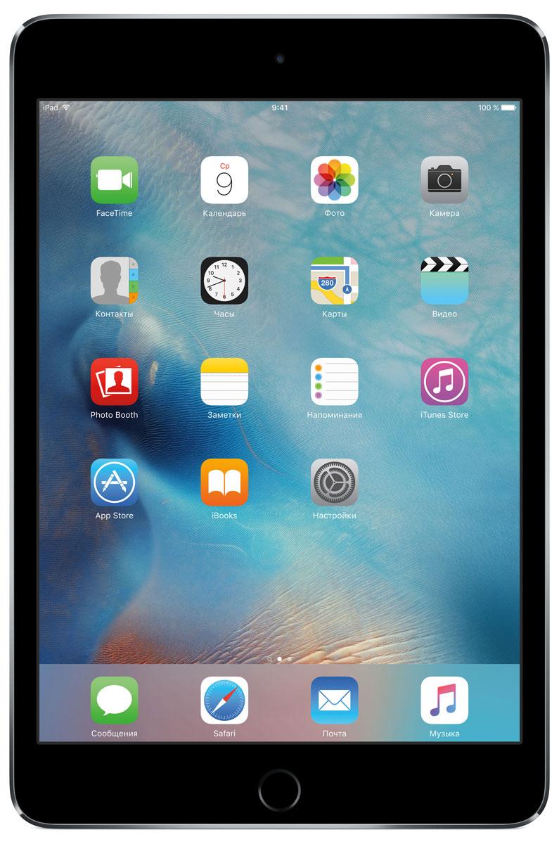 Apple iPad mini 4 Wi-Fi 16GB, Space GrayMK6J2RU/AВ ещё более лёгком, тонком и элегантном корпусе iPad mini 4 помещается всё то, что вам так нравится в iPad. Игры, покупки, фильмы и даже работа - всё выглядит невероятно увлекательно на великолепном дисплее Retina. Теперь у вас ещё больше причин всегда брать iPad с собой. iPad mini 4 ещё никогда не был таким удобным. Его толщина всего 6,1 мм - и это никак не влияет на прочность. Надёжный и элегантный алюминиевый корпус unibody прослужит долгие годы и всегда будет радовать глаз. Дисплеи iPad mini предыдущих поколений производились из трёх отдельных компонентов. В iPad mini 4 их объединили в один. Исчезло расстояние между слоями, а вместе с ним и внутренние блики. Результат: на дисплее iPad mini 4 цвета стали ещё реалистичнее, а изображения выглядят контрастнее, ярче и резче. Процессор A8 второго поколения с 64-битной архитектурой - это сердце iPad mini 4. Благодаря невероятной производительности все приложения, от видеоредакторов до 3D-игр,...