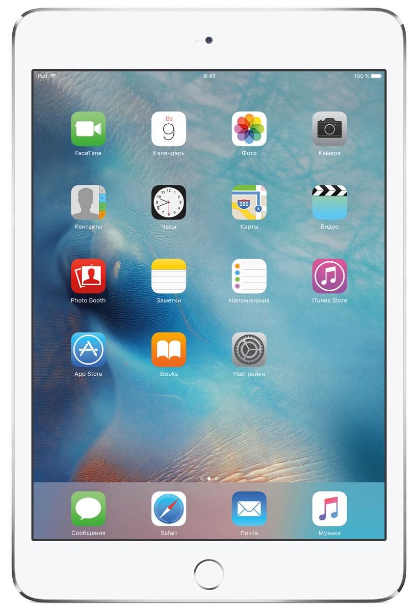 Apple iPad mini 4 Wi-Fi 128GB, SilverMK9P2RU/AВ ещё более лёгком, тонком и элегантном корпусе iPad mini 4 помещается всё то, что вам так нравится в iPad. Игры, покупки, фильмы и даже работа - всё выглядит невероятно увлекательно на великолепном дисплее Retina. Теперь у вас ещё больше причин всегда брать iPad с собой. iPad mini 4 ещё никогда не был таким удобным. Его толщина всего 6,1 мм - и это никак не влияет на прочность. Надёжный и элегантный алюминиевый корпус unibody прослужит долгие годы и всегда будет радовать глаз. Дисплеи iPad mini предыдущих поколений производились из трёх отдельных компонентов. В iPad mini 4 их объединили в один. Исчезло расстояние между слоями, а вместе с ним и внутренние блики. Результат: на дисплее iPad mini 4 цвета стали ещё реалистичнее, а изображения выглядят контрастнее, ярче и резче. Процессор A8 второго поколения с 64-битной архитектурой - это сердце iPad mini 4. Благодаря невероятной производительности все приложения, от видеоредакторов до 3D-игр,...