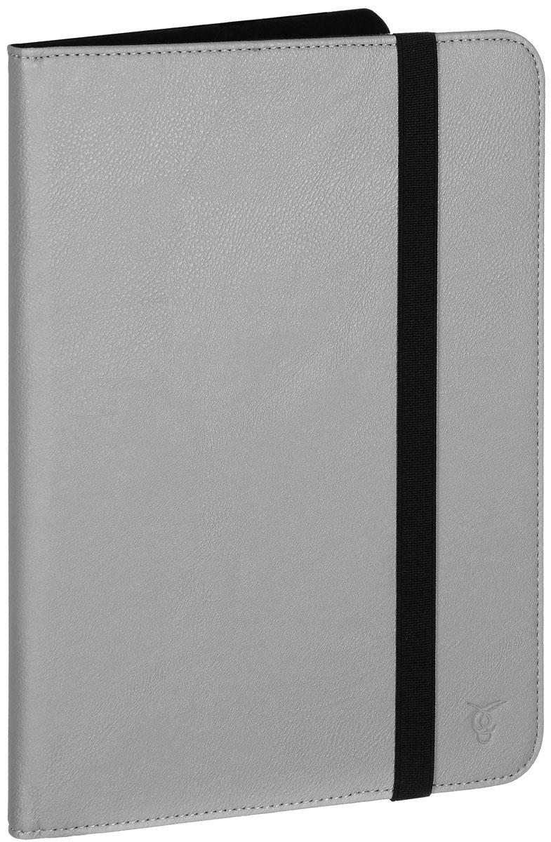 Vivacase Basic чехол для планшетов 10, Gray (VUC-CBS10-gr)VUC-CBS10-grЧехол Vivacase Basic для планшетов с диагональю до 10 предназначен для защиты ваших электронных устройств от механических повреждений и влаги. Внутреннее крепление позволяет надежно зафиксировать устройство. Обеспечивает свободный доступ ко всем разъемам и клавишам вашего девайса.