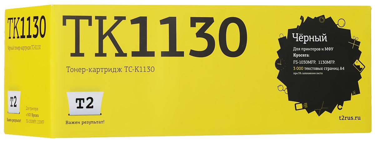 T2 TC-K1130 тонер-картридж для Kyocera FS-1030MFP/1130MFP