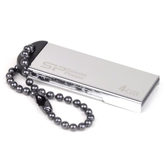 Silicon Power Touch 830 4GB, Silver USB-накопительSP004GBUF2830V1SUSB-накопитель Silicon Power Touch 830. Североевропейский дизайн: Дизайн Touch 830 отличают серебристо-ледяной корпус, естественный вид и простота. Корпус из нержавеющей стали: Надежная конструкция корпуса, выполненного из нержавеющей стали. Водо- и пыленепроницаемый, стойкий к вибрации: С применением технологии COB (Chip On Board) Touch 830 от Silicon Power водо- и пыленепроницаем.