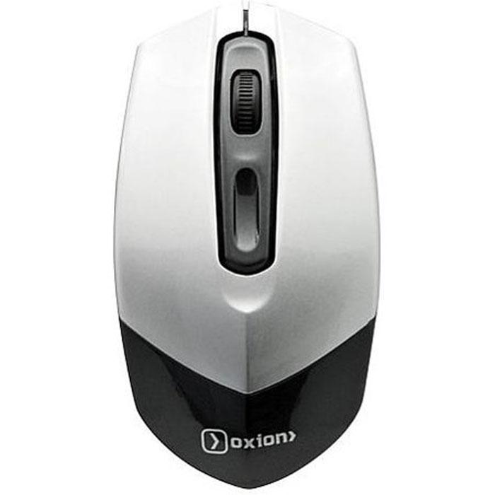 Oxion OMS005, Silver мышь проводнаяOMS005SLПроводная USB мышь Oxion OMS005 имеет разрешение 1000 DPI и эргономичный дизайн, что незаменимо для продолжительной работы без ощущения усталости. Четкое позиционирование на большинстве поверхностей позволят работать где бы вы не находились! Мышь подходит как для использования в офисе, так и для работы дома. Ресурс кнопок: 3 000 000 нажатий Материал: АБС-пластик
