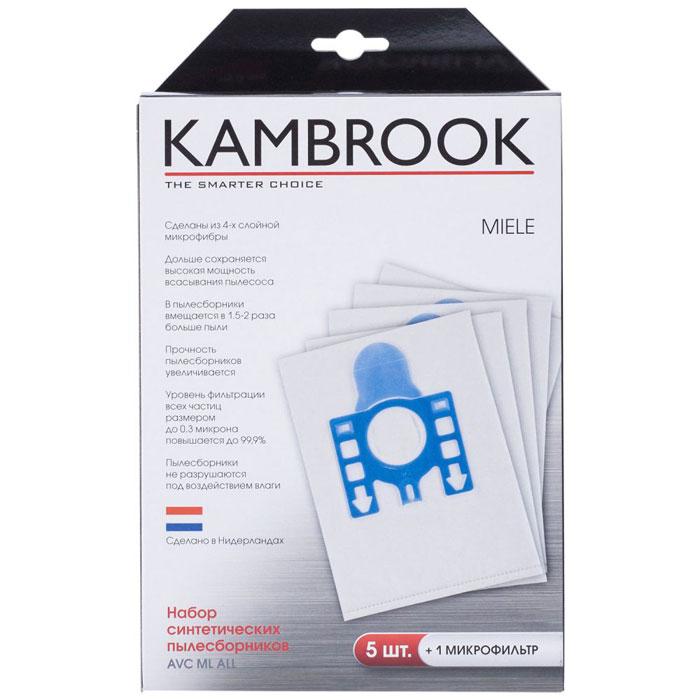 Kambrook AVC ML ALL пылесборник48512Мешки-пылесборники для пылесосов Miele из 4-х слойной микрофибры прекрасно подойдут к вашему пылесосу и помогут навести порядок в доме! В комплекте 5 пылесборников и 1 микрофильтр. Тип оригинального пылесборника: G/N, F/J/M.