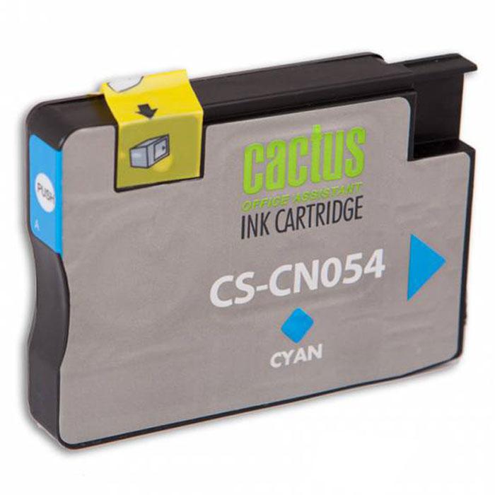 Cactus CS-CN054, Cyan струйный картридж для HP OfficeJet 6600CS-CN054Картридж Cactus CS-CN054 для струйных принтеров HP. Расходные материалы Cactus для печати максимизируют характеристики принтера. Обеспечивают повышенную четкость изображения и плавность переходов оттенков и полутонов, позволяют отображать мельчайшие детали изображения. Обеспечивают надежное качество печати.