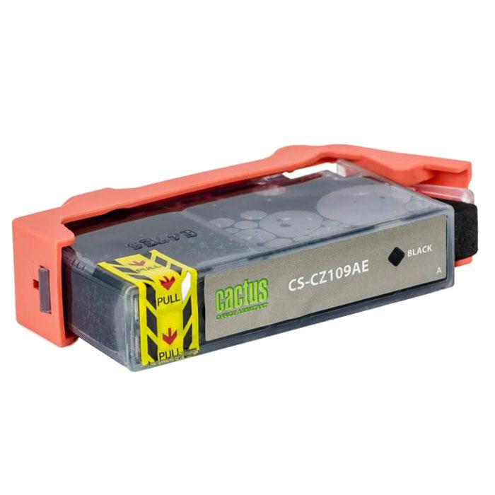 Cactus CS-CZ109AE, Black струйный картридж для принтеров HP DJ IA 3525/5525/4515/4525CS-CZ109AEКартридж Cactus CS-CZ109AE для струйных принтеров HP. Расходные материалы Cactus для монохромной печати максимизируют характеристики принтера. Обеспечивают повышенную чёткость чёрного текста и плавность переходов оттенков серого цвета и полутонов, позволяют отображать мельчайшие детали изображения. Обеспечивают надежное качество печати.