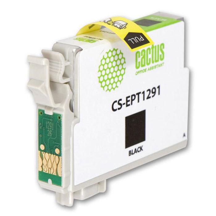 Cactus CS-EPT1291, Black струйный картридж для Epson Stylus Office B42/BX305/BX305F/BX320CS-EPT1291Картридж Cactus CS-EPT1291 для струйных принтеров Epson. Расходные материалы Cactus для монохромной печати максимизируют характеристики принтера. Обеспечивают повышенную чёткость чёрного текста и плавность переходов оттенков серого цвета и полутонов, позволяют отображать мельчайшие детали изображения. Обеспечивают надежное качество печати.