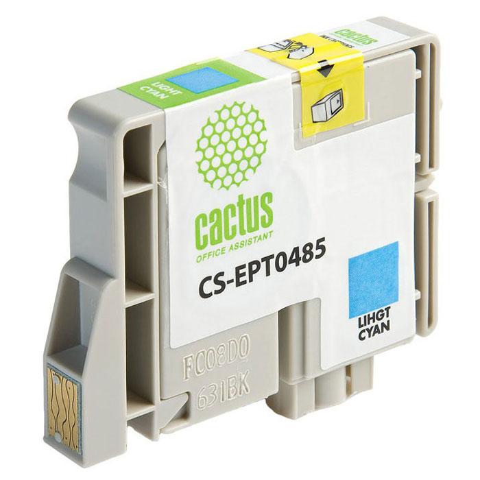 Cactus CS-EPT0485, Light Cyan струйный картридж для Epson Stylus Photo R200/ R220/ R300/ R320