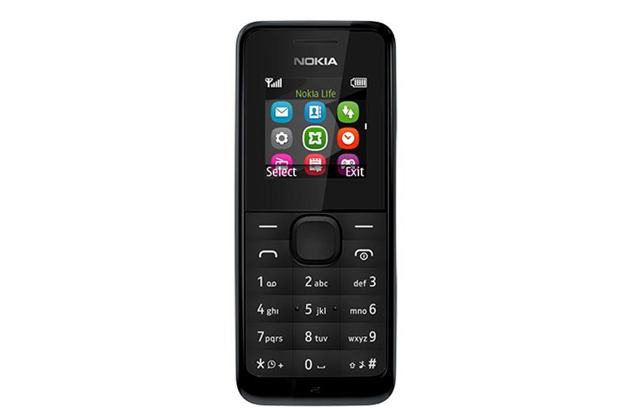 Nokia 105 DS, BlackA00025708Nokia 105 - эффектный телефон с цветным экраном в черном корпусе. Яркий и простой дизайн и надежная клавиатура с защитой от пыли и брызг, обеспечивающая эффективную работу телефона. Небольшие, но важные мелочи делают жизнь проще. Например, пять программируемых будильников. Говорящие часы. Фонарик, чтобы осветить путь в темноте. В Nokia 105 также встроено FM-радио - достаточно подключить гарнитуру, чтобы погрузиться в мир музыки. Телефон имеет русифицированную клавиатуру.