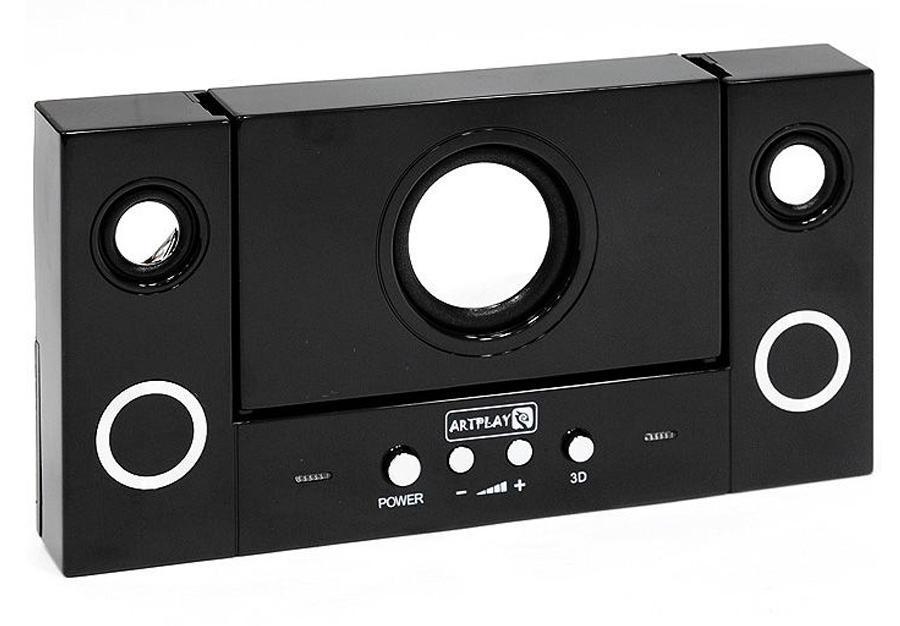 Портативная акустическая система для PSP 2000/3000 (цвет: черный)