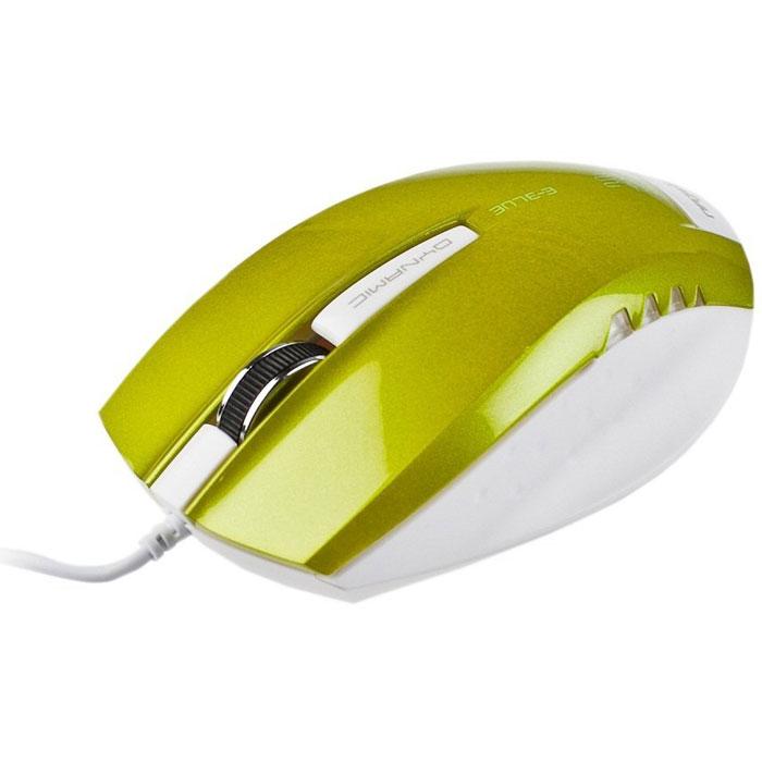 E-Blue EMS102 Dynamic, Green мышь проводнаяEMS102GRПроводная компьютерная мышь E-Blue EMS102 Dynamic безусловно станет для вас незаменимым помощником. Компактные размеры делают эту мышь очень удобной для работы с ноутбуком, поскольку она занимает совсем мало места в сумке. Металлическое колесо прокрутки обеспечивает максимальное удобство во время длительной работы за компьютером.