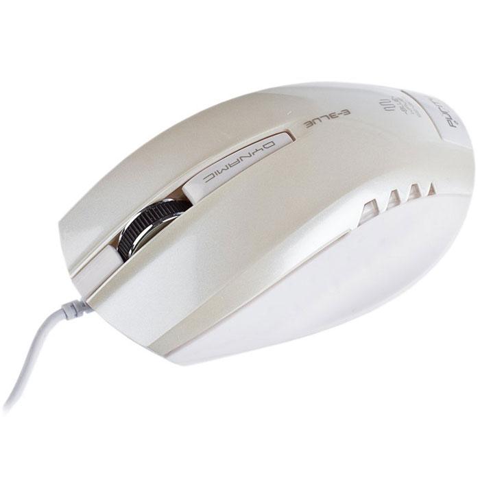 E-Blue EMS102 Dynamic, White мышь проводная