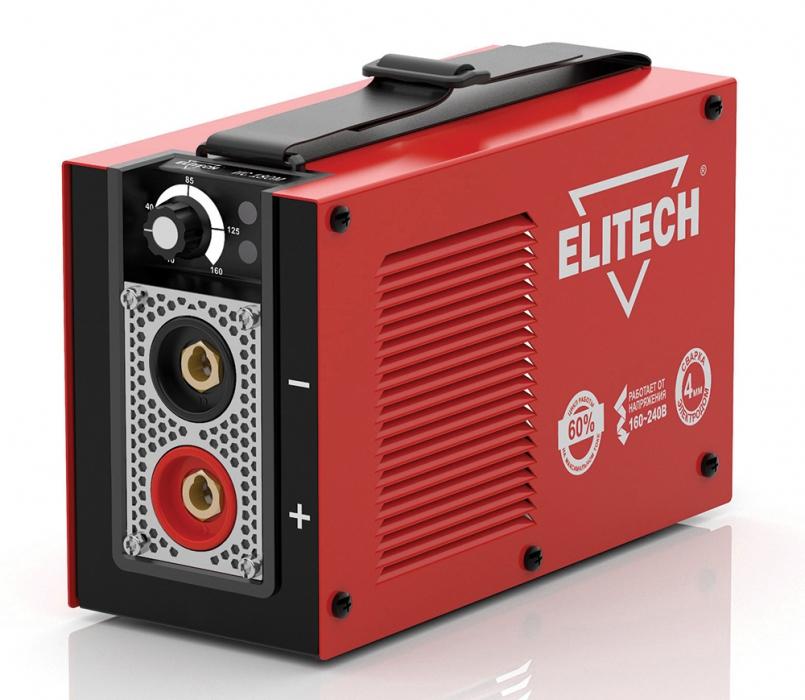 Инверторный сварочный аппарат Elitech IGBT ИС 180М