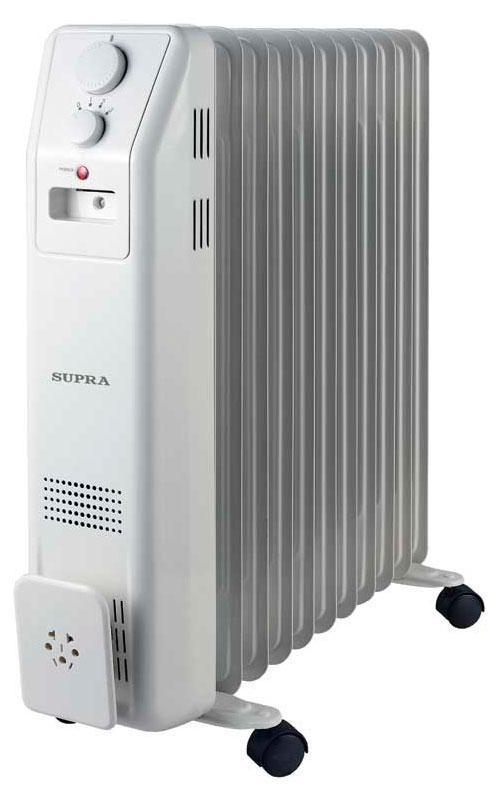Supra ORS-11-SN, White масляный радиаторORS-11-SN whiteМаслонаполненный электрический обогреватель Supra ORS-11F-SN быстро обогреет ваше помещение.