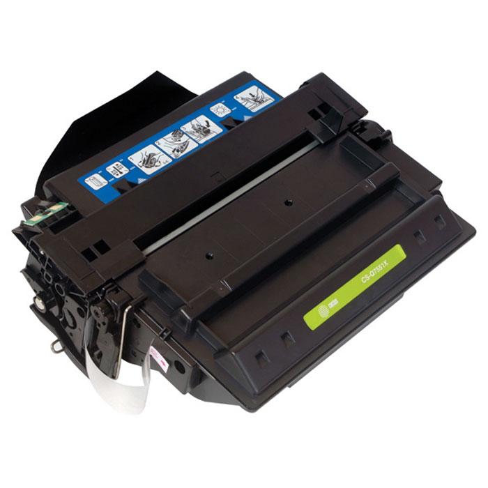 Cactus CS-Q7551XS, Black тонер-картридж для HP LaserJet P3005/M3027/M3035CS-Q7551XSКартридж Cactus CS-Q7551XS для лазерных принтеров HP. Расходные материалы Cactus для лазерной печати максимизируют характеристики принтера. Обеспечивают повышенную чёткость чёрного текста и плавность переходов оттенков серого цвета и полутонов, позволяют отображать мельчайшие детали изображения. Обеспечивают надежное качество печати.