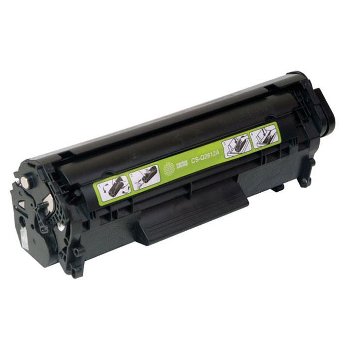 Cactus CS-Q2612AS, Black тонер-картридж для HP LJ1010/1012/1015/1018/1020/1020Plus/1022/3015/3020CS-Q2612ASКартридж Cactus CS-Q2612AS для лазерных принтеров HP. Расходные материалы Cactus для лазерной печати максимизируют характеристики принтера. Обеспечивают повышенную чёткость чёрного текста и плавность переходов оттенков серого цвета и полутонов, позволяют отображать мельчайшие детали изображения. Обеспечивают надежное качество печати.