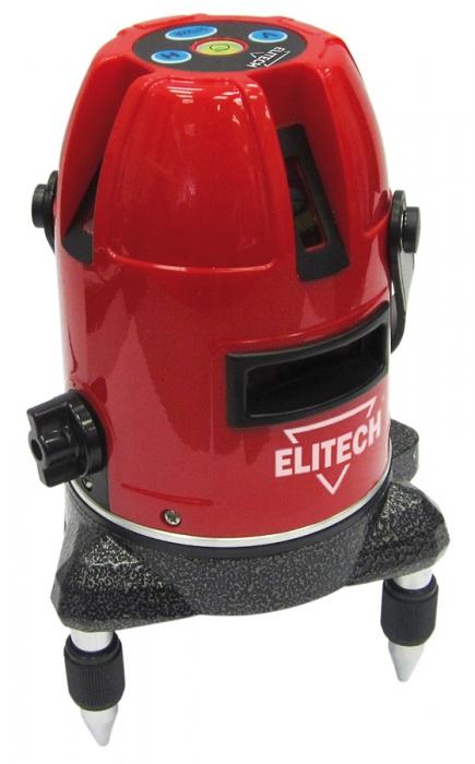 Нивелир Elitech ЛН 5/2В178792Лазерный уровень Elitech ЛН 5/2В позволяет решать широкий спектр задач, связанных с ремонтом и отделкой как внутри помещений, так и снаружи. Прибор проецирует одну горизонтальную и две вертикальных линий под углом 90°. Уровень отлично подходит для укладки керамической плитки, оклейки стен обоями, установки дверей, монтажа оборудования и т.д. В некоторых случаях для удобства рабочего процесса можно выбрать одну горизонтальную или одну / две вертикальных линий. Прибор оснащен функцией самовыравнивания, с отклонением от вертикальной оси не более 3°. При превышении угла наклона, выходящего за пределы диапазона выравнивания, срабатывает система сигнализации разгоризонтирования, которая сопровождается часто повторяющимся звуковым сигналом и миганием лазерных линий, если они включены. Для хранения и транспортировки прибора используется кейс с ремнем для переноски, входящие в комплект поставки. Преимущества: - Построение 2-х вертикальных и 1-ой...