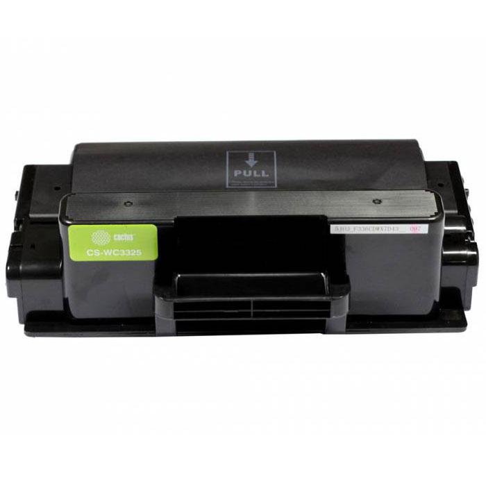 Cactus CS-WC3325, Black тонер-картридж для Xerox 3325 (106R02312)CS-WC3325Картридж Cactus CS-WC3325 для лазерных принтеров Xerox. Расходные материалы Cactus для лазерной печати максимизируют характеристики принтера. Обеспечивают повышенную чёткость чёрного текста и плавность переходов оттенков серого цвета и полутонов, позволяют отображать мельчайшие детали изображения. Обеспечивают надежное качество печати.