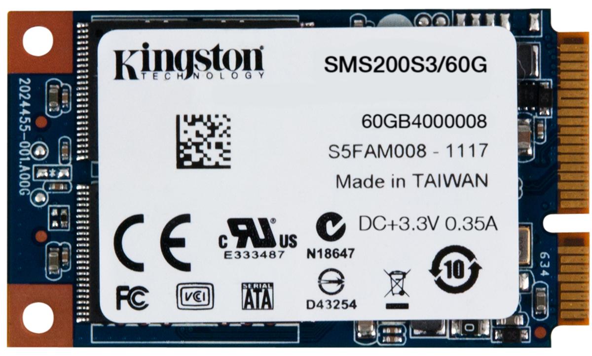 Kingston mS200 60Gb SSD-накопитель