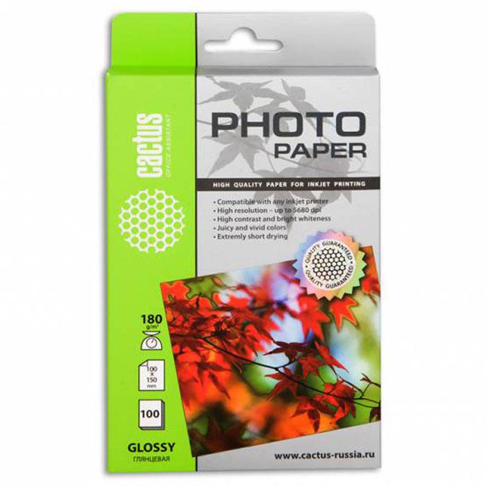 Cactus CS-GA6180100 глянцевая фотобумагаCS-GA6180100Глянцевая фотобумага Cactus CS-GA6180100. Запечатлевайте лучшие мгновения вашей жизни в сочных и насыщенных цветах. Представляйте яркие и красочные презентации. Наслаждайтесь отпечатками высочайшего качества. Глянцевая фотобумага Cactus представляет собой оптимальное сочетание цены и качества. Она отлично подходит для печати памятных фотографий в фоторамку или фотоальбом. Обладая приятным глянцевым блеском, она украсит ваши фотографии и презентации. А высококлассное покрытие позволит добиться максимально точной цветопередачи, что будет полезно при печати макетов и web-графики. Предназначена только для струйных принтеров.
