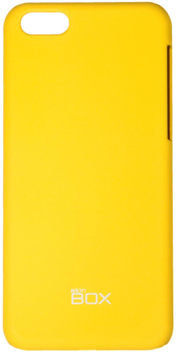 Skinbox 4People чехол для Apple iPhone 5c, YellowT-S-AiPhone5C-002Чехол - накладка Skinbox 4People для Apple iPhone 5c бережно и надежно защитит ваш смартфон от пыли, грязи, царапин и других повреждений. Чехол оставляет свободным доступ ко всем разъемам и кнопкам устройства. В комплект также входит защитная пленка на экран.