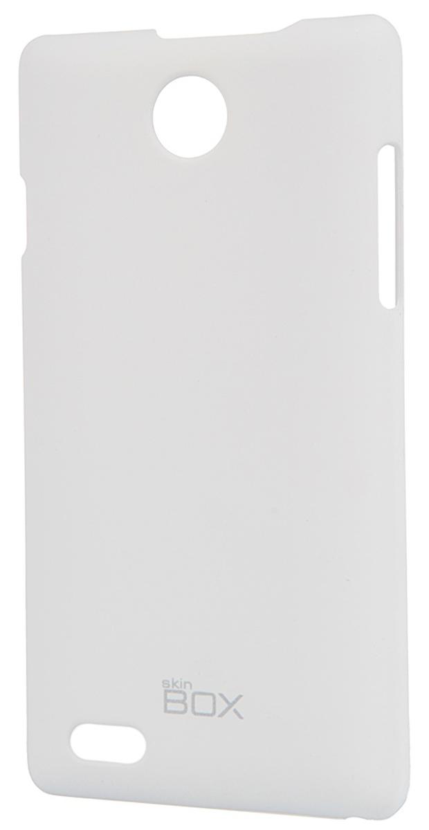 Skinbox 4People чехол для ZTE v815W, WhiteT-S-v815W-002Чехол - накладка Skinbox 4People для ZTE v815W бережно и надежно защитит ваш смартфон от пыли, грязи, царапин и других повреждений. Чехол оставляет свободным доступ ко всем разъемам и кнопкам устройства. В комплект также входит защитная пленка на экран.