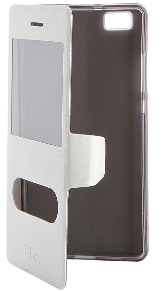 Skinbox Lux AW чехол для Huawei P8 Lite, WhiteT-S-HP8L-004Чехол Skinbox Lux AW для Huawei P8 Lite выполнен из высококачественного поликарбоната и экокожи. Он обеспечивает надежную защиту корпуса и экрана смартфона и надолго сохраняет его привлекательный внешний вид. Чехол также обеспечивает свободный доступ ко всем разъемам и клавишам устройства.
