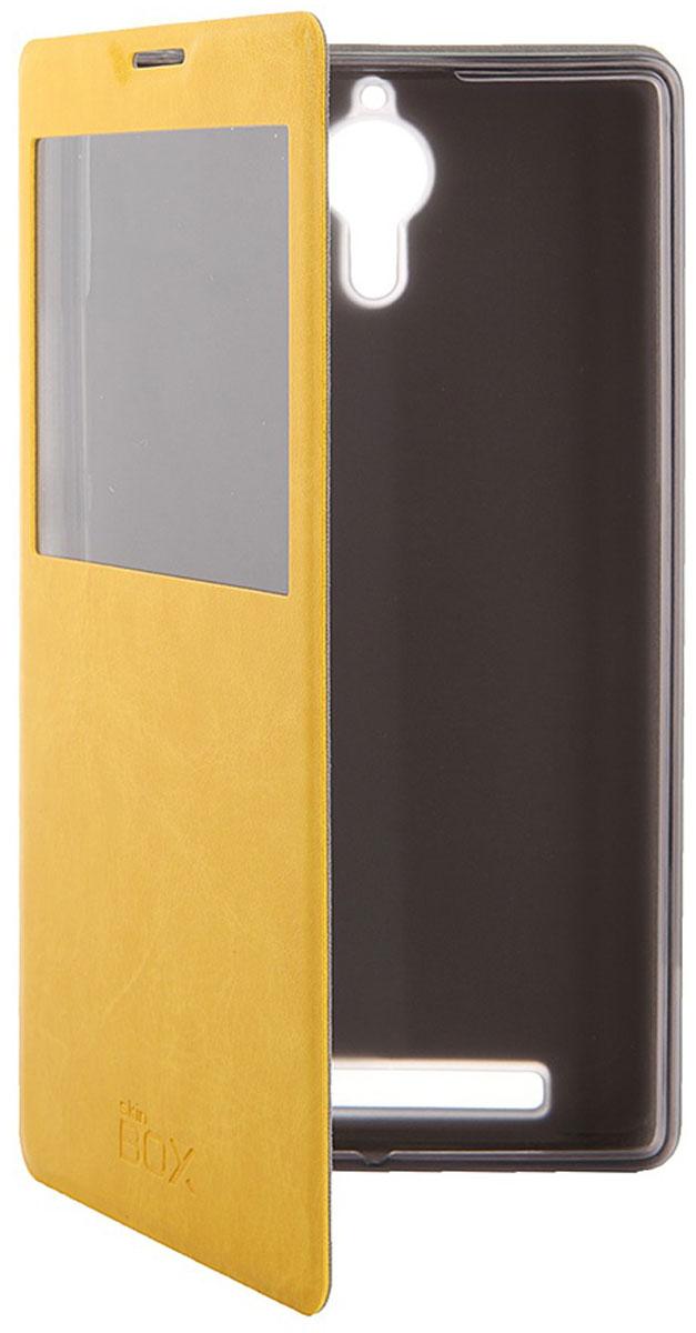 Skinbox Lux AW чехол для Lenovo P90, YellowT-S-LP90-004Чехол Skinbox Lux AW для Lenovo P90 выполнен из высококачественного поликарбоната и экокожи. Он обеспечивает надежную защиту корпуса и экрана смартфона и надолго сохраняет его привлекательный внешний вид. Чехол также обеспечивает свободный доступ ко всем разъемам и клавишам устройства.