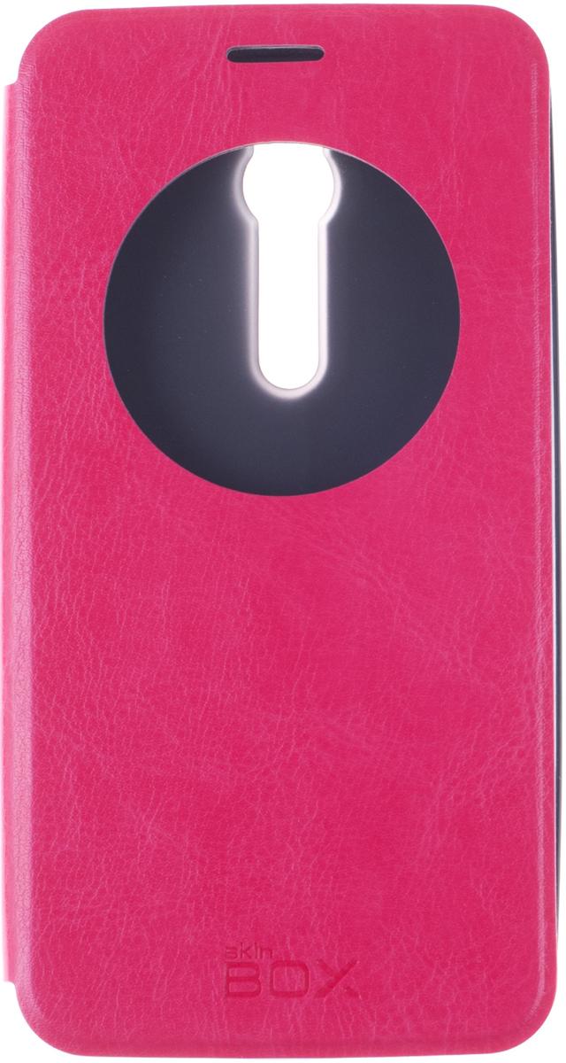 Skinbox Lux AW чехол для Asus ZenFone 2 (ZE551ML/ZE550ML), RedT-S-AZF2-004Skinbox Lux AW для Asus ZenFone 2 обеспечивает надежную защиту смартфона и надежно оберегает его от механических повреждений. Чехол выполнен из искусственной кожи и высокого качества с приятной на ощупь текстурой, а форма открывает свободный доступ ко всем разъемам и элементам вашего устройства.
