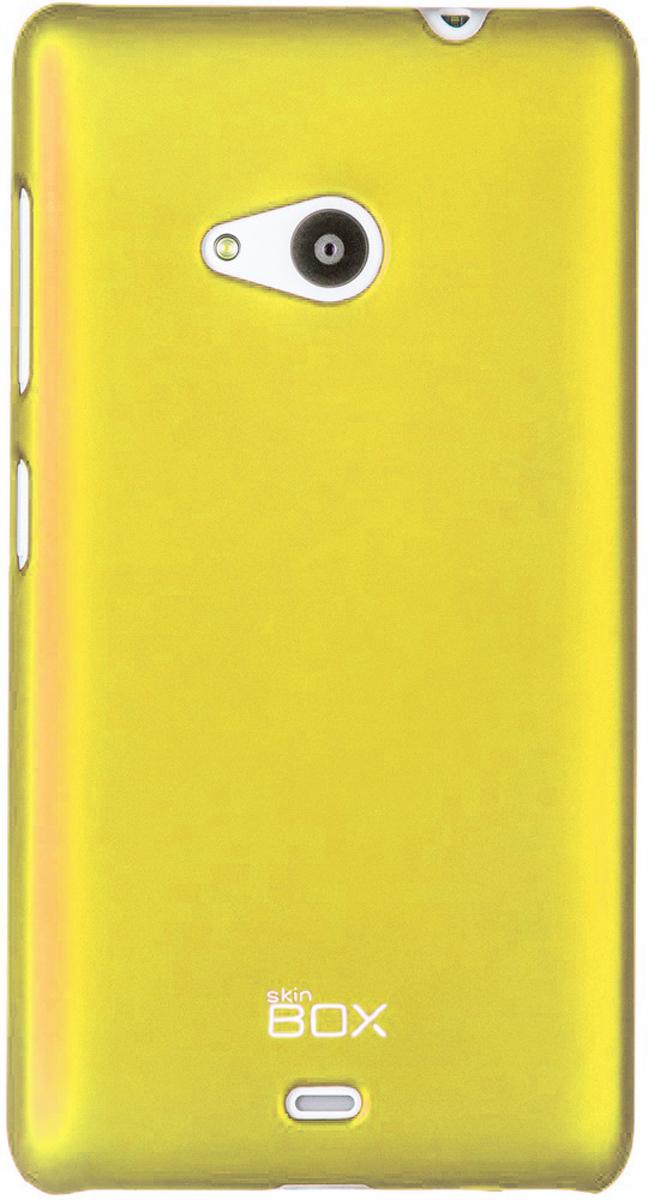 Skinbox 4People чехол для Microsoft Lumia 535, Yellow