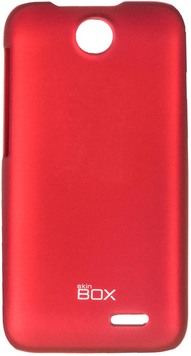 Skinbox 4People чехол для HTC Desire 310, RedT-S-HD310-002Чехол - накладка Skinbox 4People для HTC Desire 310 бережно и надежно защитит ваш смартфон от пыли, грязи, царапин и других повреждений. Чехол оставляет свободным доступ ко всем разъемам и кнопкам устройства. В комплект также входит защитная пленка на экран.