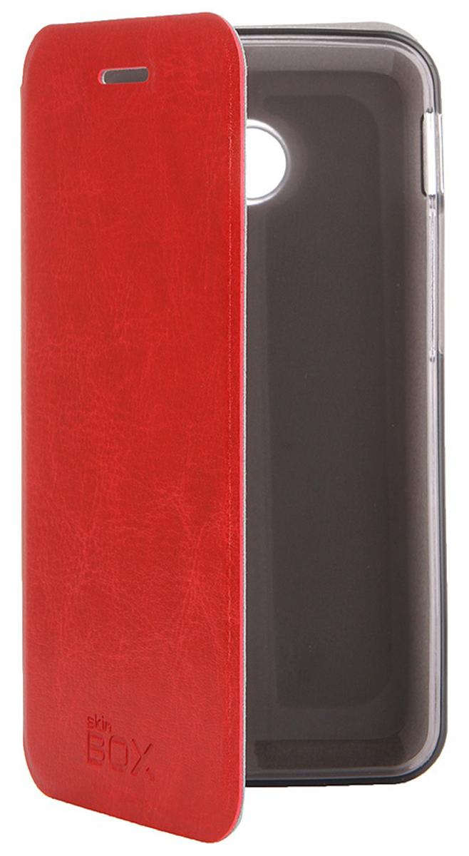 Skinbox Lux чехол для Asus ZenFone 4, RedT-S-AZF4-004Чехол Skinbox Lux для Asus ZenFone 4 выполнен из высококачественного поликарбоната и искусственной кожи. Он обеспечивает надежную защиту корпуса и экрана смартфона и надолго сохраняет его привлекательный внешний вид. Чехол также обеспечивает свободный доступ ко всем разъемам и клавишам устройства.