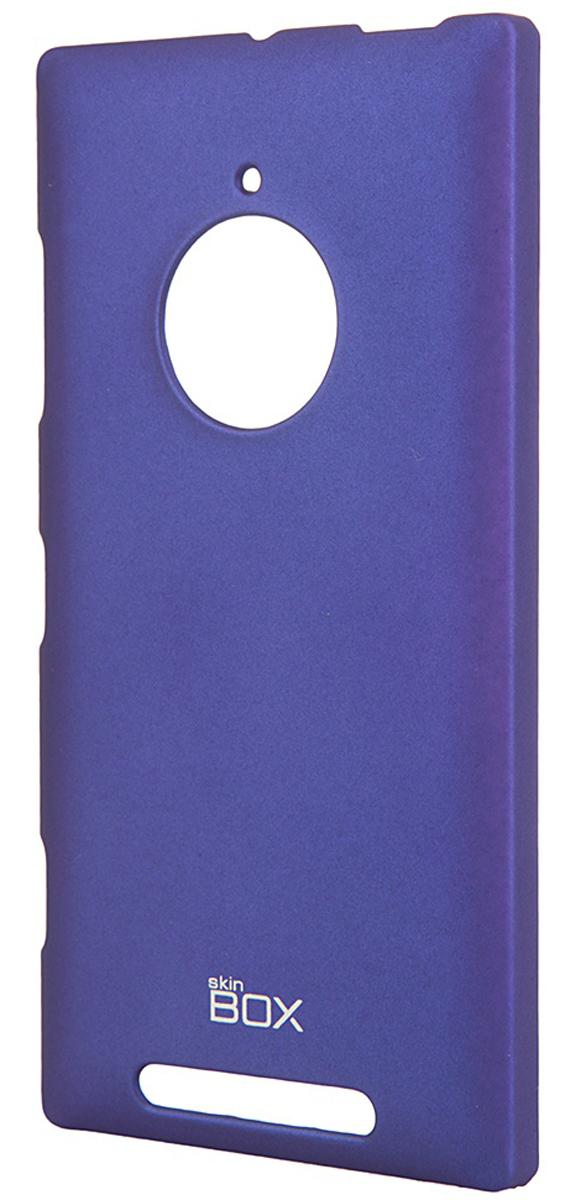 Skinbox 4People чехол для Nokia Lumia 830, BlueT-S-NL830-002Чехол - накладка Skinbox 4People для Nokia Lumia 830 бережно и надежно защитит ваш смартфон от пыли, грязи, царапин и других повреждений. Чехол оставляет свободным доступ ко всем разъемам и кнопкам устройства. В комплект также входит защитная пленка на экран.