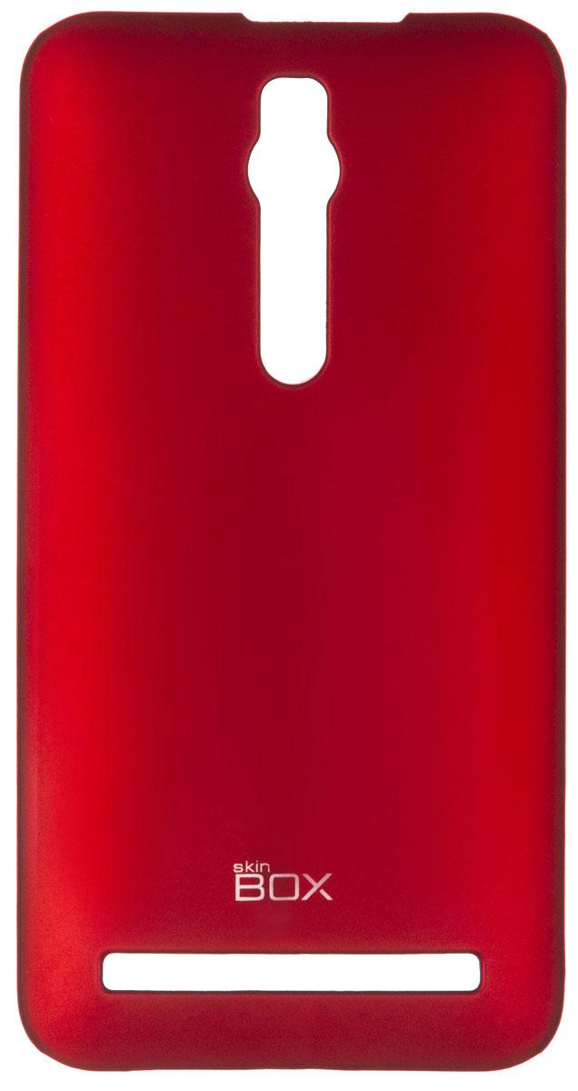 Skinbox 4People чехол для Asus ZenFone 2 (ZE551ML/ZE550ML), RedT-S-AZ2-002Чехол-накладка Skinbox 4People для Asus ZenFone 2 (ZE551ML/ZE550ML) бережно и надежно защитит ваш смартфон от пыли, грязи, царапин и других повреждений. Чехол оставляет свободным доступ ко всем разъемам и кнопкам устройства. В комплект также входит защитная пленка на экран.