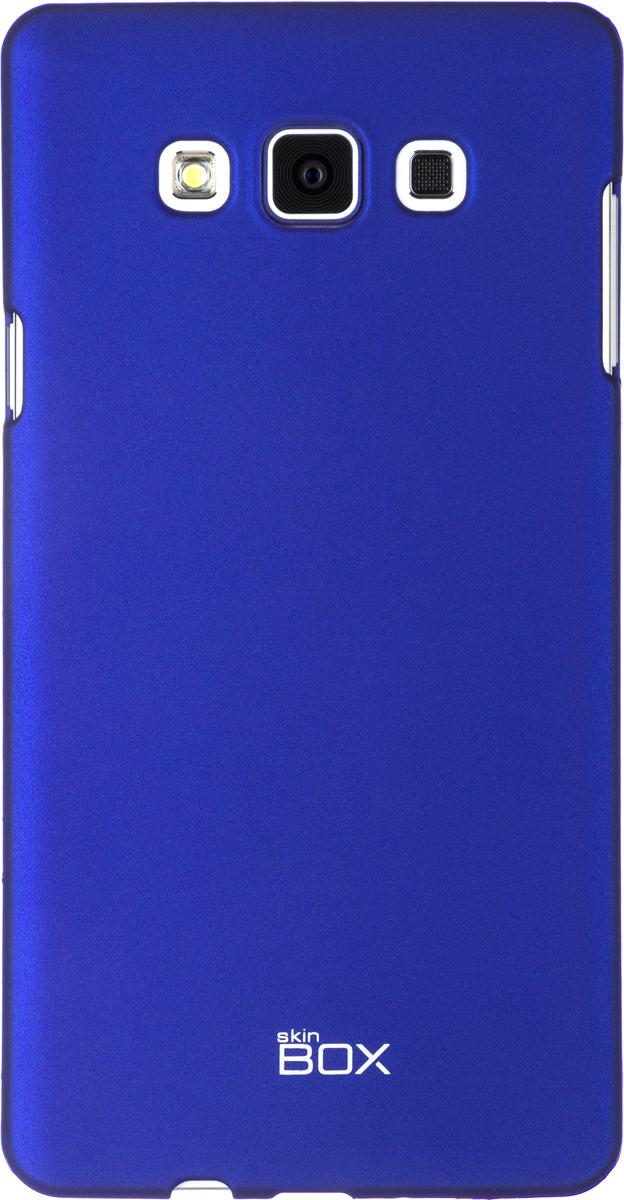 Skinbox 4People чехол для Samsung A700 Galaxy A7, BlueT-S-SGA700-002Чехол - накладка Skinbox 4People для Samsung A700 Galaxy A7 бережно и надежно защитит ваш смартфон от пыли, грязи, царапин и других повреждений. Чехол оставляет свободным доступ ко всем разъемам и кнопкам устройства. В комплект также входит защитная пленка на экран.