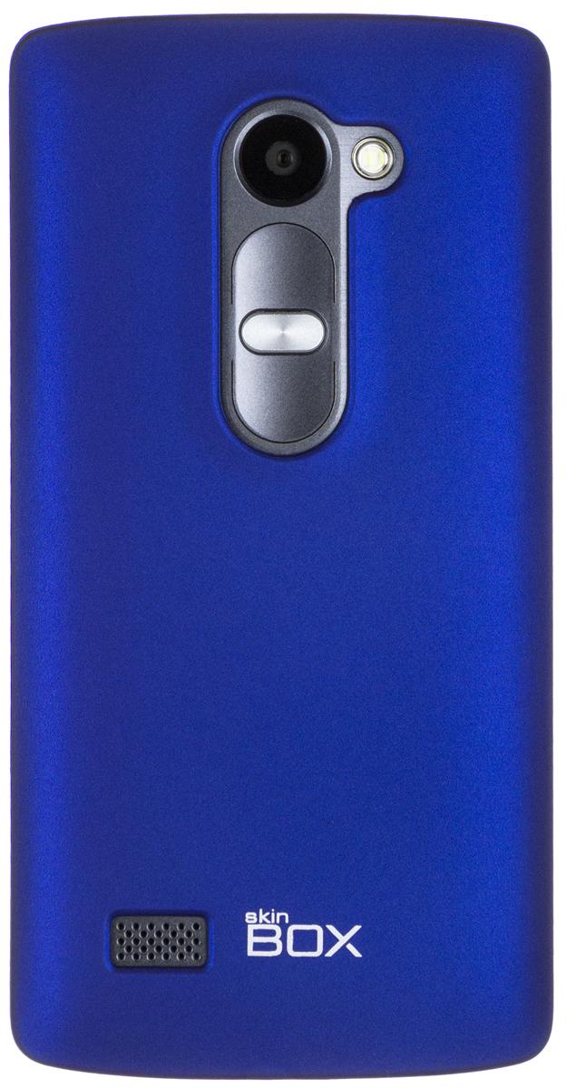 Skinbox Shield 4People чехол для LG Leon, BlueT-S-LL-002Чехол - накладка Skinbox 4People для LG Leon бережно и надежно защитит ваш смартфон от пыли, грязи, царапин и других повреждений. Чехол оставляет свободным доступ ко всем разъемам и кнопкам устройства. В комплект также входит защитная пленка на экран.