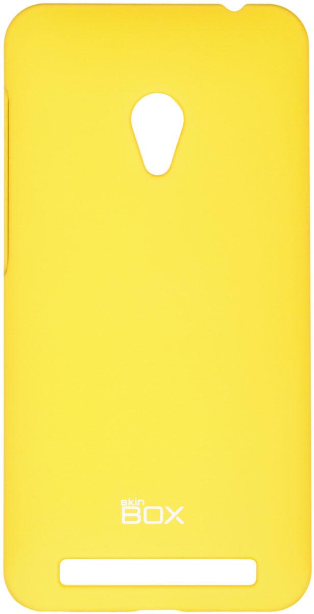Skinbox 4People чехол для Asus ZenFone 4 (A450CG), YellowT-S-AZA450CG-002Чехол - накладка Skinbox 4People для Asus ZenFone 4 (A450CG) бережно и надежно защитит ваш смартфон от пыли, грязи, царапин и других повреждений. Чехол оставляет свободным доступ ко всем разъемам и кнопкам устройства. В комплект также входит защитная пленка на экран.