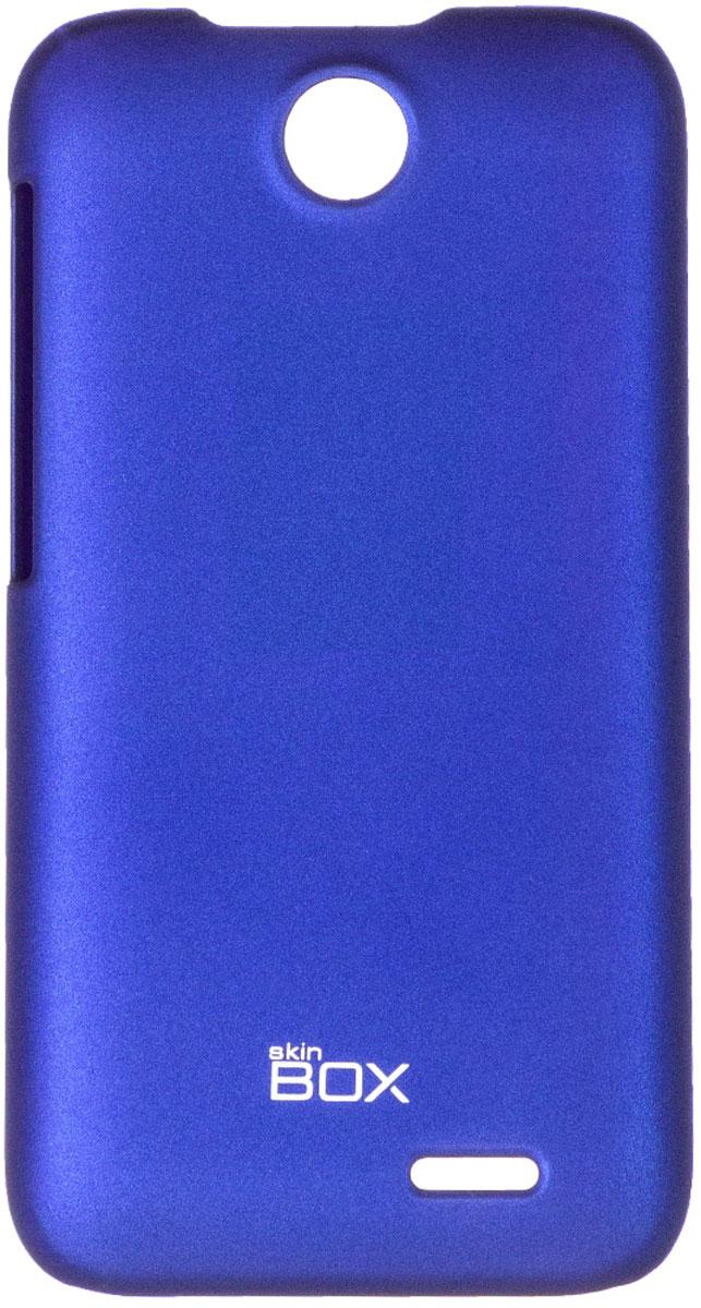 Skinbox 4People чехол для HTC Desire 310, BlueT-S-HD310-002Чехол - накладка Skinbox 4People для HTC Desire 310 бережно и надежно защитит ваш смартфон от пыли, грязи, царапин и других повреждений. Чехол оставляет свободным доступ ко всем разъемам и кнопкам устройства. В комплект также входит защитная пленка на экран.