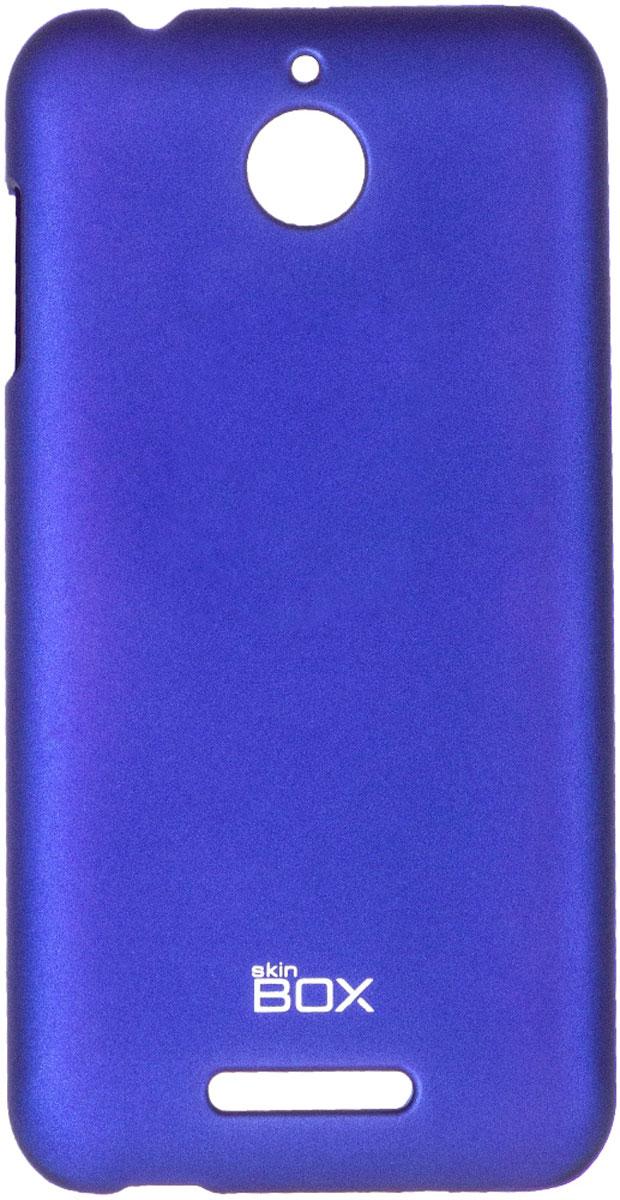 Skinbox 4People чехол для HTC Desire 510, BlueT-S-HD510-002Чехол-накладка Skinbox 4People для HTC Desire 510 бережно и надежно защитит ваш смартфон от пыли, грязи, царапин и других повреждений. Чехол оставляет свободным доступ ко всем разъемам и кнопкам устройства. В комплект также входит защитная пленка на экран.