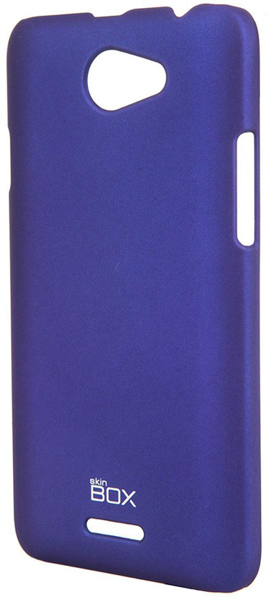 Skinbox 4People чехол для HTC Desire 516, BlueT-S-HD516-002Чехол-накладка Skinbox 4People для HTC Desire 516 бережно и надежно защитит ваш смартфон от пыли, грязи, царапин и других повреждений. Чехол оставляет свободным доступ ко всем разъемам и кнопкам устройства. В комплект также входит защитная пленка на экран.