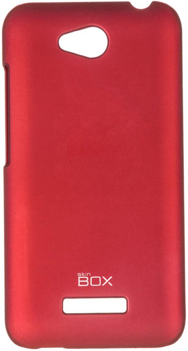 Skinbox 4People чехол для HTC Desire 616, RedT-S-HD616-002Чехол-накладка Skinbox 4People для HTC Desire 616 бережно и надежно защитит ваш смартфон от пыли, грязи, царапин и других повреждений. Чехол оставляет свободным доступ ко всем разъемам и кнопкам устройства. В комплект также входит защитная пленка на экран.
