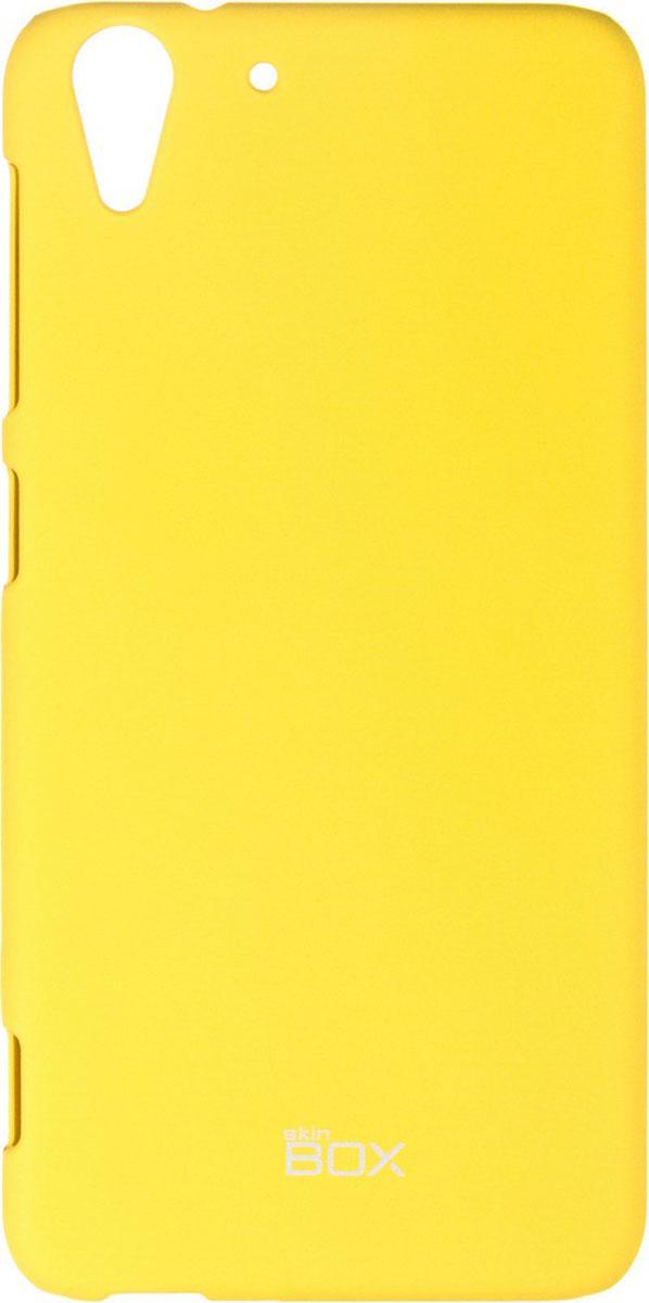 Skinbox 4People чехол для HTC Desire Eye, YellowT-S-HDEYE-002Чехол-накладка Skinbox 4People для HTC Desire Eye бережно и надежно защитит ваш смартфон от пыли, грязи, царапин и других повреждений. Чехол оставляет свободным доступ ко всем разъемам и кнопкам устройства. В комплект также входит защитная пленка на экран.