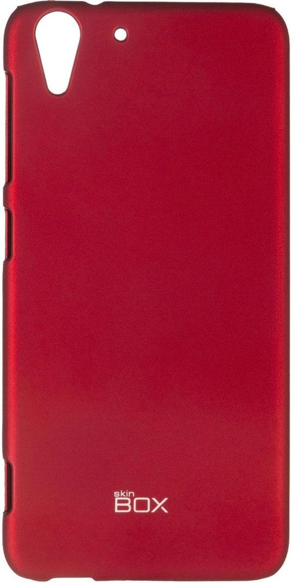 Skinbox 4People чехол для HTC Desire Eye, RedT-S-HDEYE-002Чехол-накладка Skinbox 4People для HTC Desire Eye бережно и надежно защитит ваш смартфон от пыли, грязи, царапин и других повреждений. Чехол оставляет свободным доступ ко всем разъемам и кнопкам устройства. В комплект также входит защитная пленка на экран.