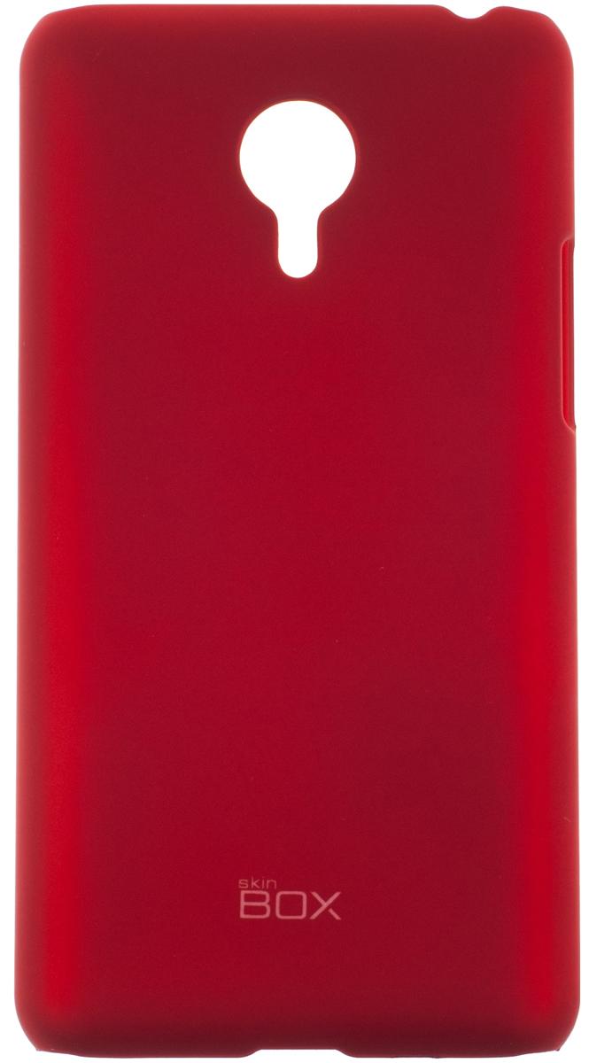 Skinbox 4People чехол для Meizu MX4 Pro, RedT-S-MX4P-002Чехол - накладка Skinbox 4People для Meizu MX4 Pro бережно и надежно защитит ваш смартфон от пыли, грязи, царапин и других повреждений. Чехол оставляет свободным доступ ко всем разъемам и кнопкам устройства. В комплект также входит защитная пленка на экран.