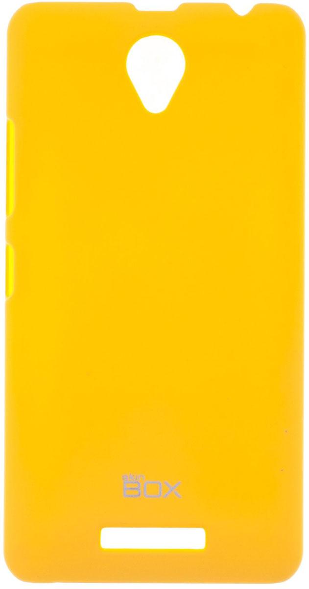 Skinbox 4People чехол для Lenovo A5000, YellowP-S-LA5000-002Чехол-накладка Skinbox 4People для Lenovo A5000 бережно и надежно защитит ваш смартфон от пыли, грязи, царапин и других повреждений. Чехол оставляет свободным доступ ко всем разъемам и кнопкам устройства. В комплект также входит защитная пленка на экран.