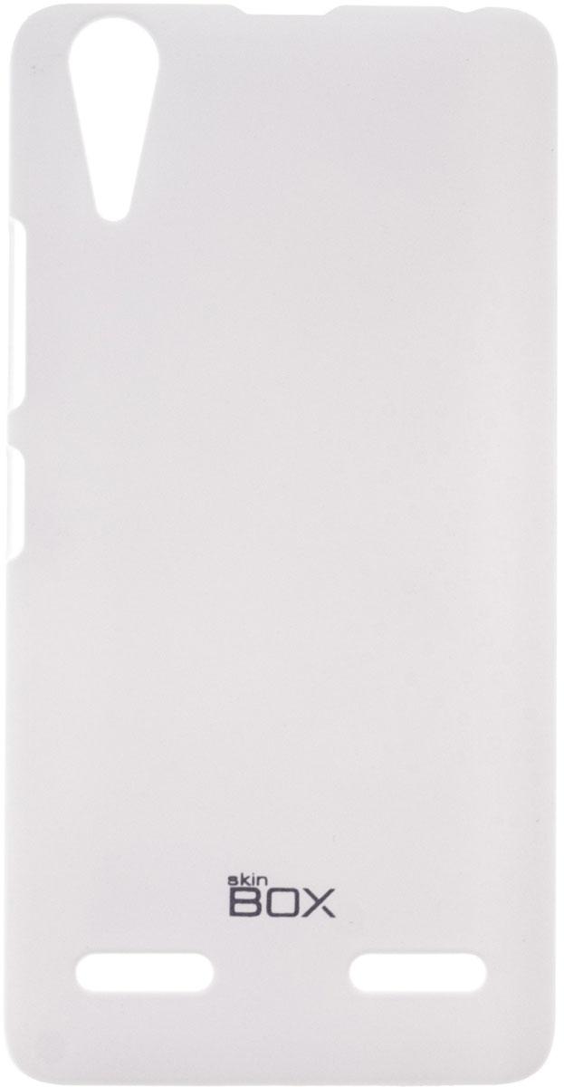 Skinbox 4People чехол для Lenovo A6000, WhiteP-S-LA6000-002Чехол-накладка Skinbox 4People для Lenovo A6000 бережно и надежно защитит ваш смартфон от пыли, грязи, царапин и других повреждений. Чехол оставляет свободным доступ ко всем разъемам и кнопкам устройства. В комплект также входит защитная пленка на экран.