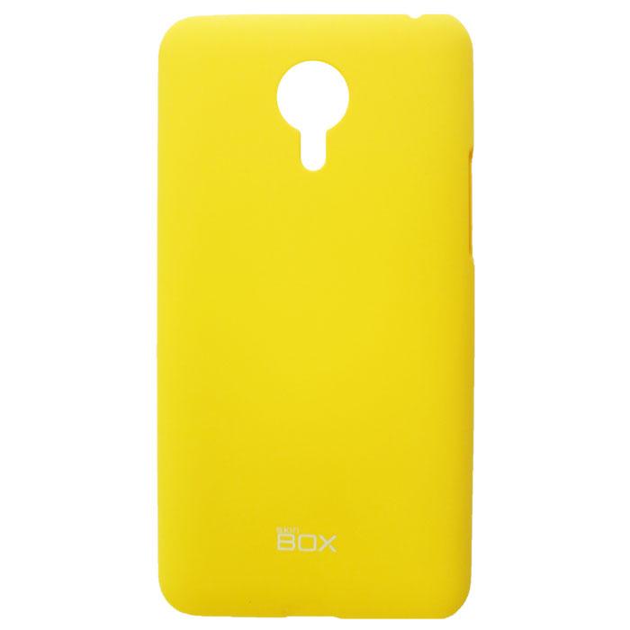 Skinbox 4People чехол для Meizu MX4, YellowT-S-MX4-002Накладка Skinbox 4People для Meizu MX4 выполнена из высококачественного поликарбоната. Она бережно и надежно защитит ваш смартфон от пыли, грязи, царапин и других повреждений. Чехол оставляет свободным доступ ко всем разъемам и кнопкам устройства.