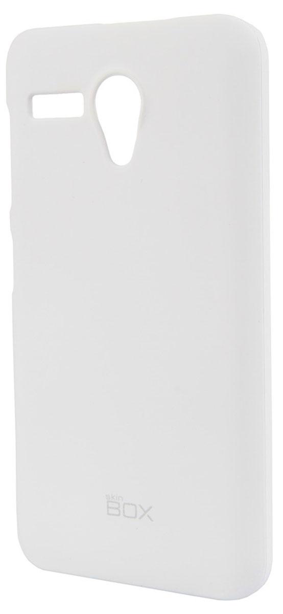 Skinbox 4People чехол для Lenovo A606, WhiteT-S-LA606-002Чехол-накладка Skinbox 4People для Lenovo A606 бережно и надежно защитит ваш смартфон от пыли, грязи, царапин и других повреждений. Чехол оставляет свободным доступ ко всем разъемам и кнопкам устройства. В комплект также входит защитная пленка на экран.