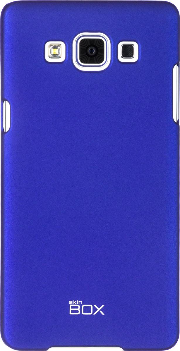 Skinbox 4People чехол для Samsung A500 Galaxy A5, BlueT-S-SGA500-002Чехол - накладка Skinbox 4People для Samsung A500 Galaxy A5 бережно и надежно защитит ваш смартфон от пыли, грязи, царапин и других повреждений. Чехол оставляет свободным доступ ко всем разъемам и кнопкам устройства. В комплект также входит защитная пленка на экран.