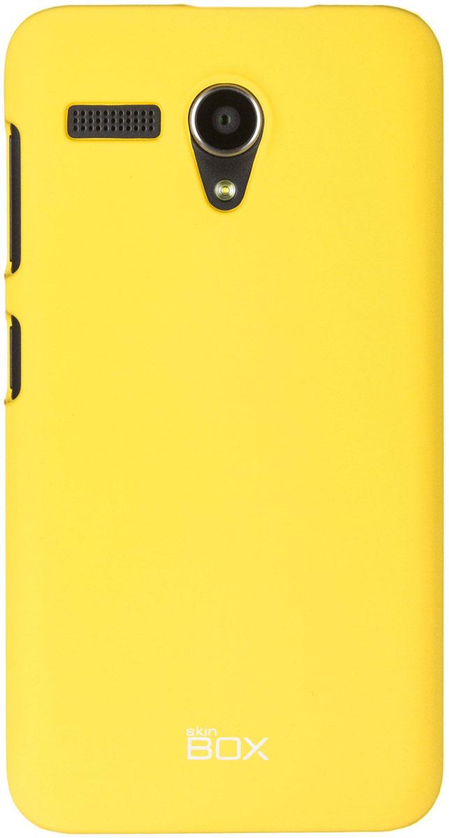 Skinbox 4People чехол для Lenovo A606, YellowT-S-LA606-002Чехол-накладка Skinbox 4People для Lenovo A606 бережно и надежно защитит ваш смартфон от пыли, грязи, царапин и других повреждений. Чехол оставляет свободным доступ ко всем разъемам и кнопкам устройства. В комплект также входит защитная пленка на экран.